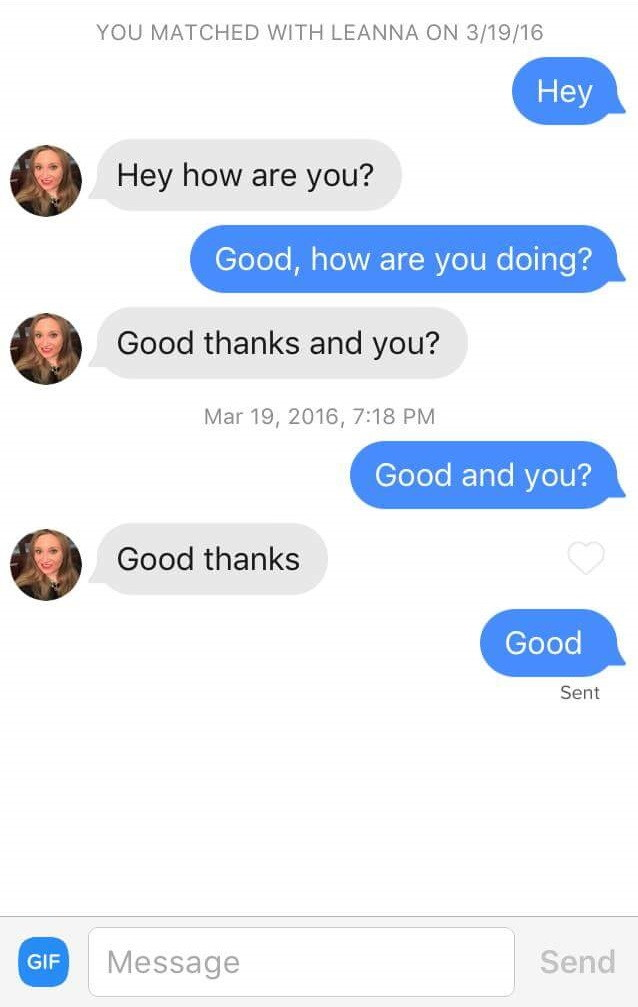 good first message on tinder