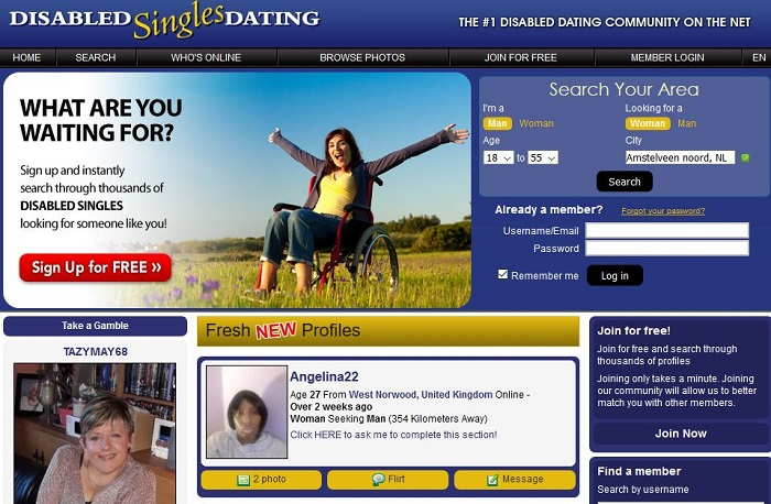 Disability Dating - Best Disabled Dating Sites
