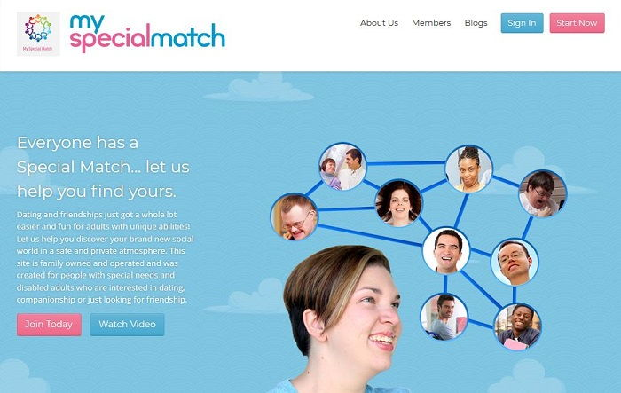 MySpecialMatch - Disabled Dating Sites