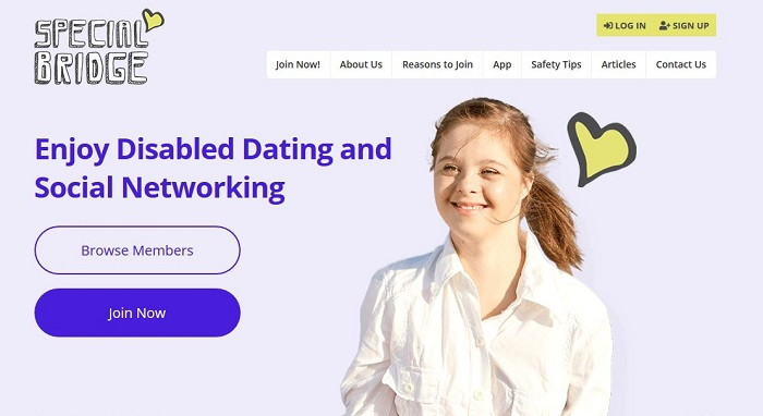 SpecialBridge - Free Disabled Dating Sites